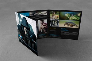 Photography Square Trifold Brochure