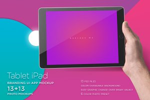 iPad Mock-up & Templates - UPDATED