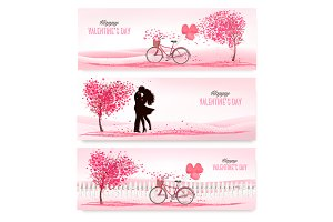 Valentine`s day backgrounds