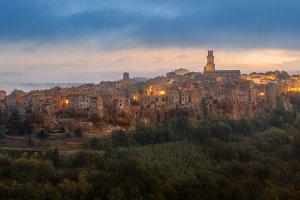 The city of Pitigliano TIF
