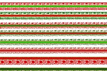 Christmas scrapbook borders lace