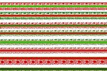 Christmas scrapbook borders lace