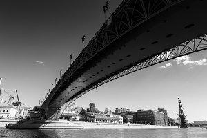 Patriarshy Bridge, Moscow, Russia
