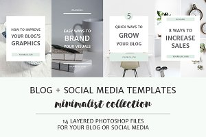 Blog + Social Media Image Templates
