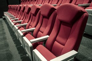 Theater or red theater seats