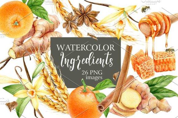 Watercolor Ingredients
