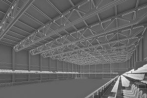 Ice Hockey Arena Interior