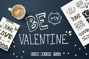 Grunge Love. Valentine's Set
