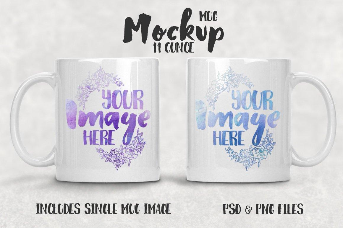 11 oz mug mockup - Product Mockups