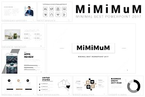 Mimimum Keynote Template