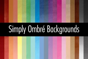 Simply Ombre Backgrounds