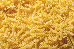 Close-up background Italian pasta. Horizontal shoot.