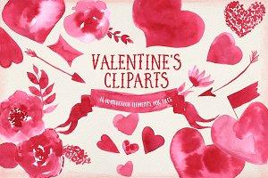Valentine's Cliparts