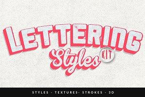 Lettering Styles Kit