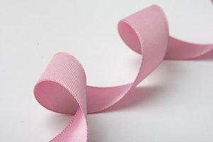 pink ribbon curls