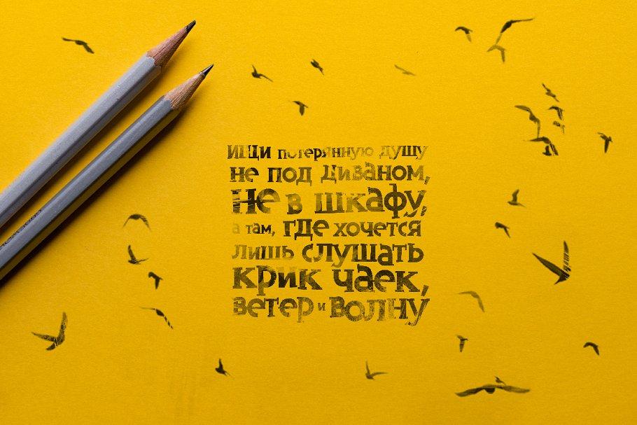 Best Inversus – a slab serif display font Vector