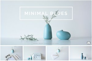 Styled Stock Photos | Minimal Blues