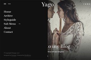 Yago - Simple WordPress Blog Theme