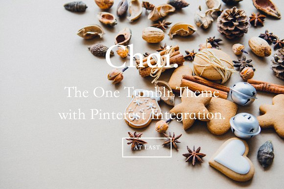 Chai Tumblr Theme