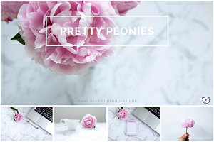 Styled Stock Photos | Pretty Peonies