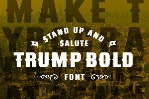 Trump Bold Font