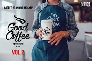 Coffee Branding Mock-up Vol 2