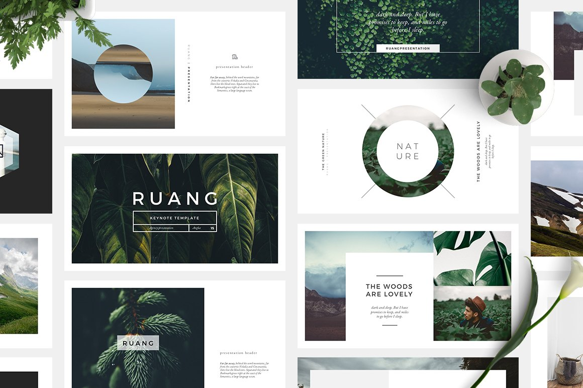 ruang keynote template presentation templates creative market