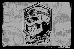 Skully illustration