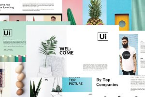 Ui MNML Multipurpose Powerpoint