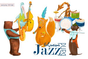 Animals jazz band.