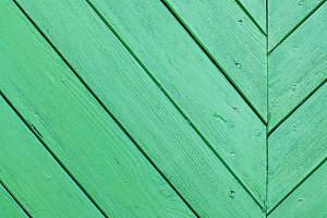 Green old wooden background texture
