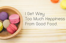 sweet macaroon quote