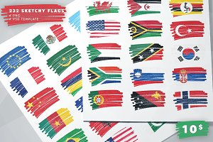 232 Sketchy Flags