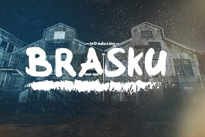 Brasku Font + Extras