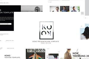Koko MNML Keynote Template