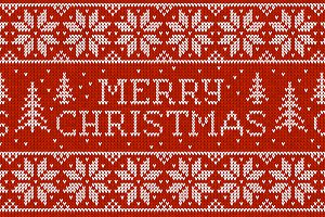 10 Merry Christmas seamless patterns