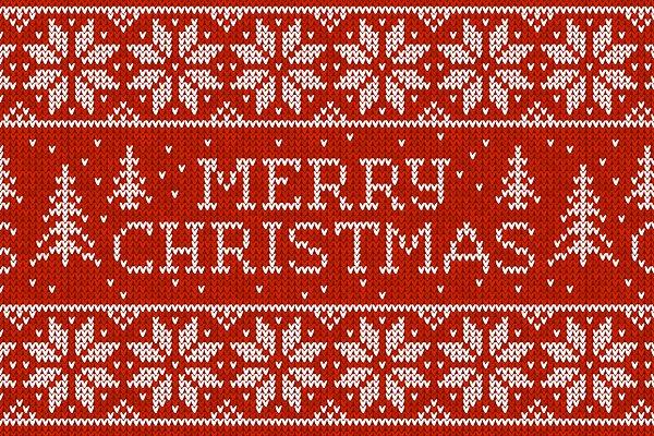 10 Merry Christmas seamless pattern…