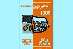 air conditioning banner