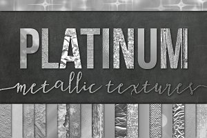 28 Silver Foil Textures/Backgrounds