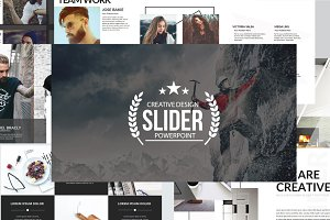 Slider Powerpoint Template