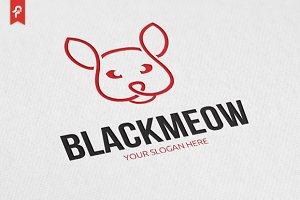 Black Meow Logo