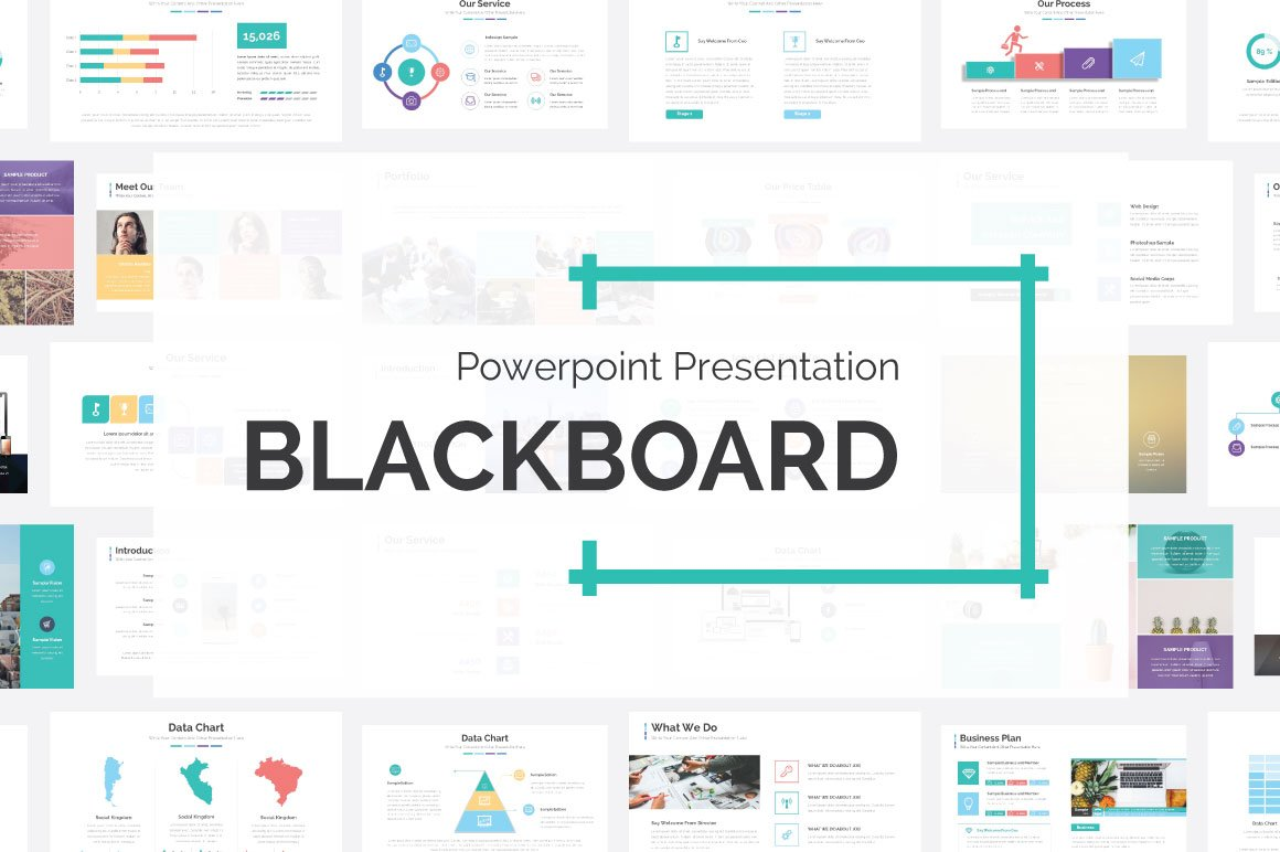Blackboard Presentation Template ~ Presentation Templates ~ Creative ...
