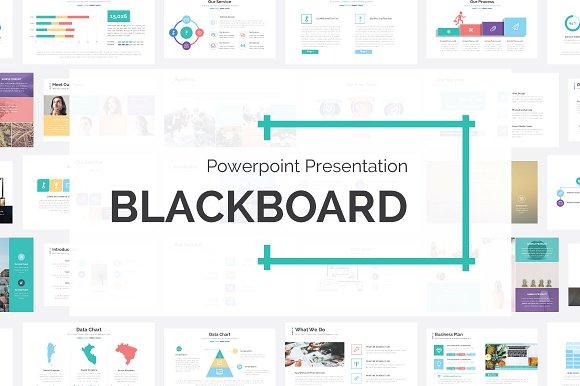Blackboard Presentation Template