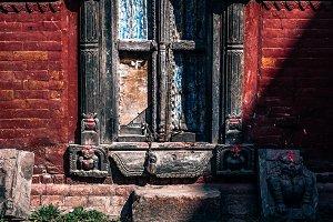 Aged Hindu Temple