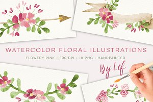 Floral Watercolour Graphics