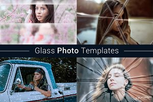 Glass Photo Template