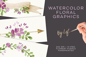 Floral Wedding Graphics