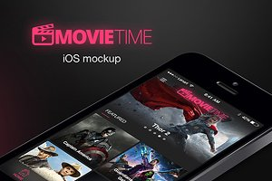 MOVIETIME MOCKUP, Sketch 3