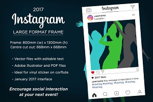 Instagram frame - 2017 interface