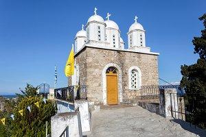 monastery of Agios Ioannis inside Koroni fortress